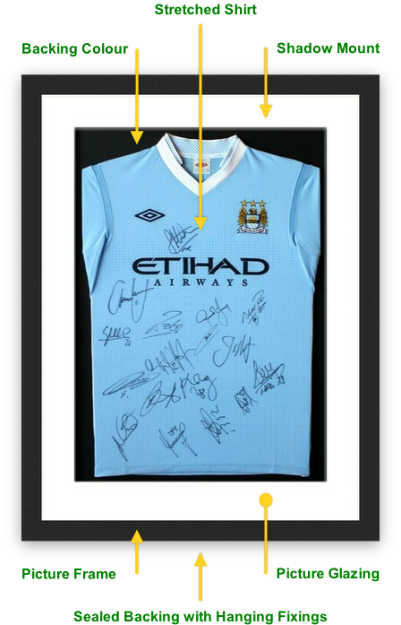 Leeds Picture Framing Service | Sport Shirt Picture Frames Leeds ...
